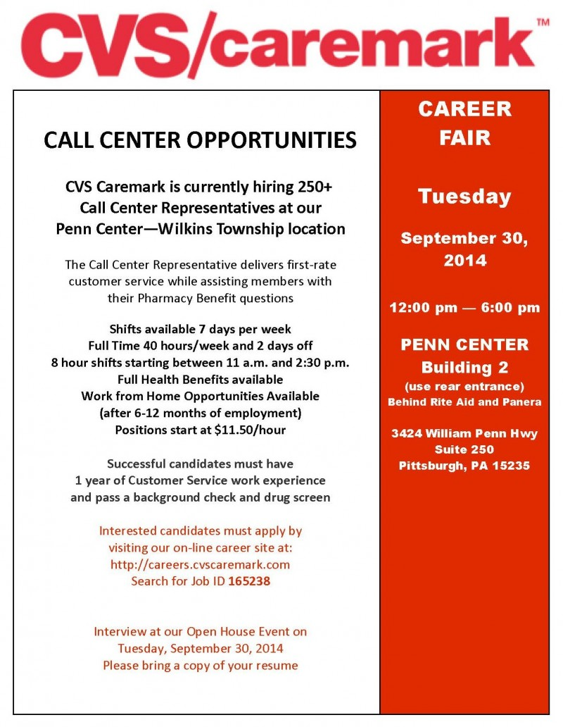 cvs caremark career fair