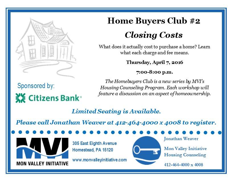 Homebuyers Club #2