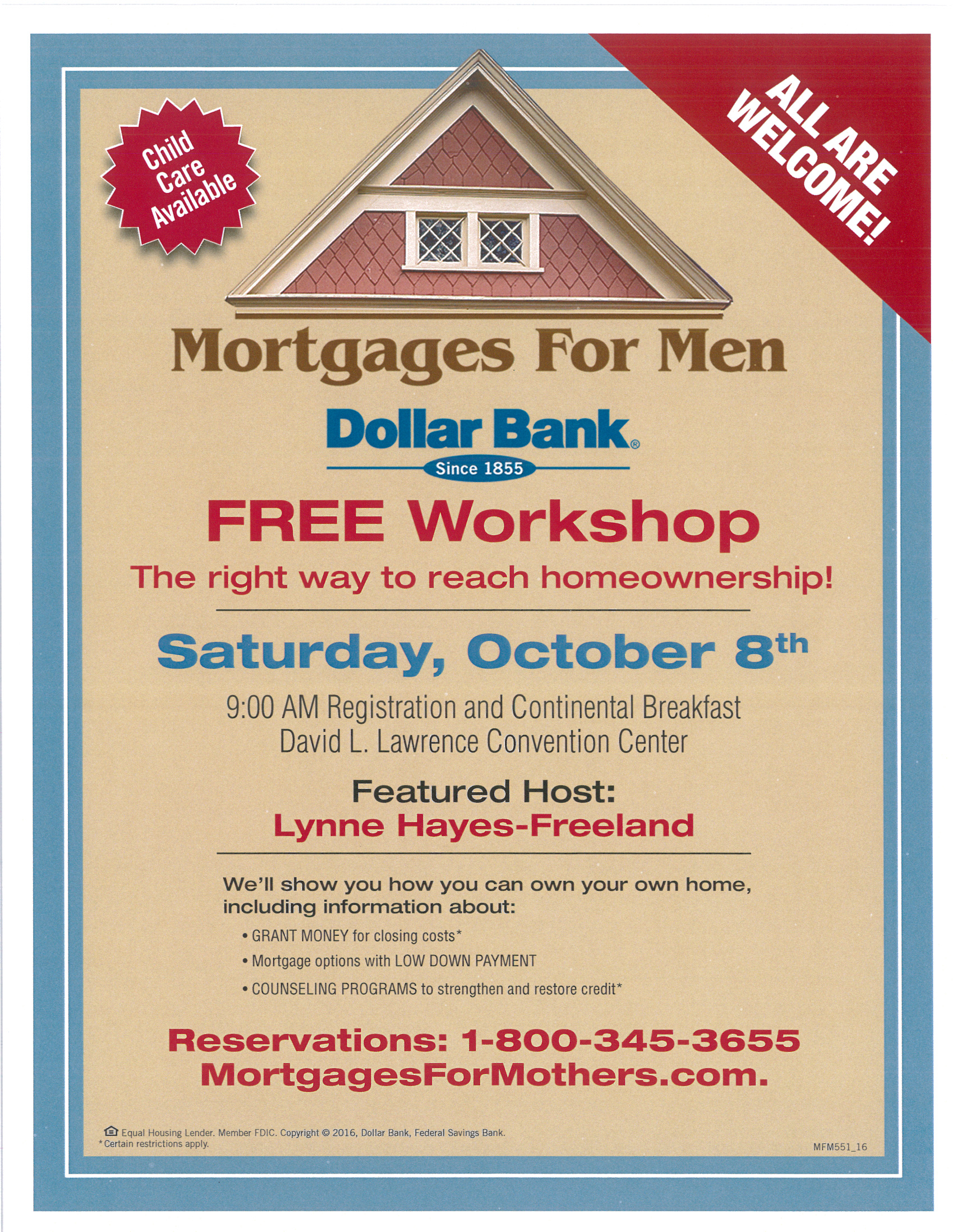 Mortgages for Men presented by Dollar Bank -